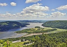 Hudson River and Iona Island by philhaber, via Flickr ~ Bear Mountain State Park, New York