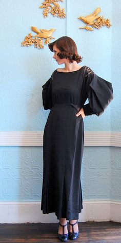 1930's evening gown from concettascloset