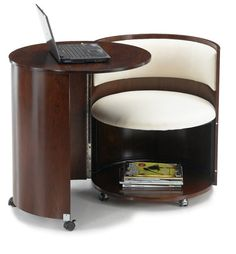 Display large Pictures of movable computer table products. You may also find more relative selling information about movable computer table products from Shang Xing Wood Industry Co. Barrel Furniture, Funky Furniture, Unique Furniture, Wood Furniture, Furniture Design, Recycled Furniture, Laptop Table, Laptop Desk, Pc Desk