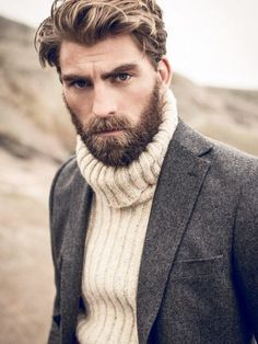Medium length hair styles are the trend these days when it comes to men's looks. These styles are simple to create and give men suave and well groomed looks with a bit of flair. Hair And Beard Styles, Long Hair Styles, Best Beard Oil, Beard Grooming Kits, Awesome Beards, Moustaches, Facial Hair, Haircuts For Men, Stylish Men