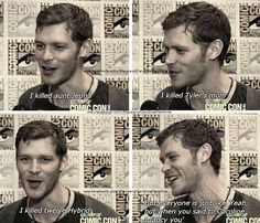 This is our king. Joseph Morgan | Niklaus Mikaelson | The Originals Vampire Diaries Cast, Vampire Diaries The Originals, The Originals 3, Joseph Morgan, Vampire Dairies, Mystic Falls, Klaus And Caroline, Original Vampire, Damon Salvatore