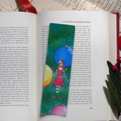 Excited to share this item from my #etsy shop: Christmas Elf Bookmark, Christmas Tree Bookmark, Christmas Bookmark, Stocking Stuffer, Gifts for Readers, Red Stocking  #christmas #christmasreading #christmasgifts #christmasfairy #christmastree #elfbookmark #christmaself Christmas Fairy, Christmas Gifts, Holiday, Gifts For Readers, Altered Images, Stocking Stuffers, Bookmarks, My Etsy Shop, Colours