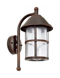 Настенный фонарь уличный San Telmo 90184 Eglo (Австрия) | интернет магазин светильников Люстрон.ру