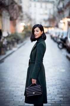 Altuzarra Coat Chanel Bag: Nicole Warne of Gary Pepper Girl.