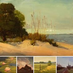 Daily painter, Laurel Daniel