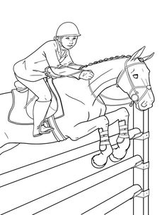 Horse Coloring Pages- Picture 8