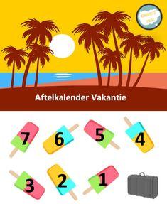 Gratis aftelkalender vakantie