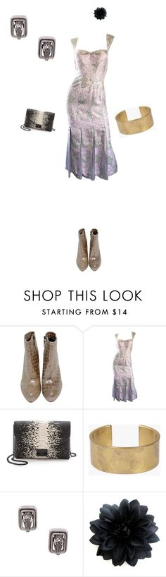 """""""Alligator"""" by amory-eyre ❤ liked on Polyvore featuring Loeffler Randall, Marmol Radziner and Kieselstein-Cord"""
