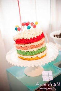 Carnival cake.
