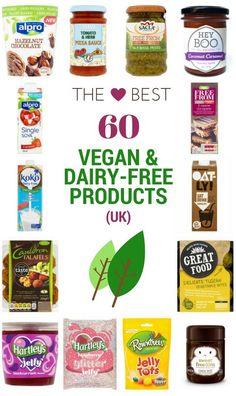 Accidentally Vegan Foods, Dairy Free Snacks, Dairy Free Recipes Uk, Dairy Free Uk, Dairy Free Alternatives, Tinned Tomatoes, Vegan Shopping, Vegan Treats, Vegan Snacks To Buy