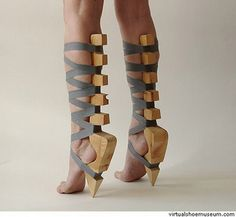 Image detail for -crazy shoes from virtual shoe museum