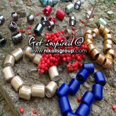 new ceramic beads with hole 15mm...order them now @ www.nikolisgroup.com