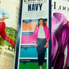 Wardrobe colorsplashing: Navy+++ from InStyle Apr2012