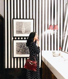 Seeing stripes and dots! Heart Evangelista Style, Filipina Actress, Girl Crushes, Style Icons, Fashion Beauty, Winter Fashion, Dots, Classy, Stripes