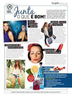 Publieditorial da marca Jun Daiti publicado na revista Nova de Março de 2015.