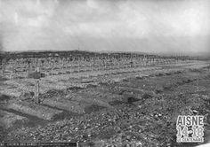 Cimetière temporaire de Craonne.  WW1 < Aisne 14-18 < Picardy < France Source: Archives Départementales de l'Aisne