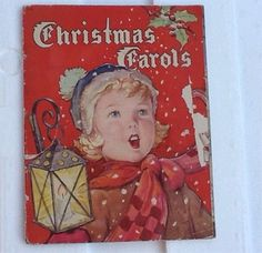 Vintage Christmas Carols Book © 1938