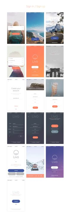Livo UI Kit for Sketch