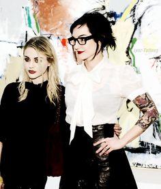 Lindsey Way & Frances Cobain