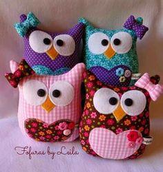 Bildergebnis für gallina porta bolsa paso a paso Owl Sewing, Sewing Toys, Sewing Crafts, Sewing Projects, Craft Projects, Owl Crafts, Diy And Crafts, Arts And Crafts, Fabric Toys