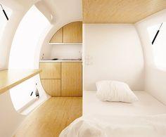 Ecocapsule: ¿te imaginas viviendo en esta casa-huevo? - Engadget en español