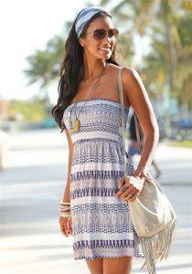 Strandkleider günstig kaufen | LASCANA Strandkleid | 08698826272194