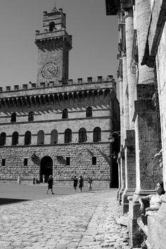 Palazzo comunale - Montepulciano (Siena)