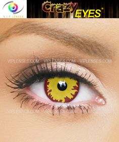 Sith contacts perfect for Halloween