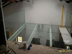 Suspended floors made of tempered and laminated glass. Resin floors with solid wood insert Wood Insert, Laminated Glass, Glass Floor, Floor Design, Floors, Solid Wood, Table, Furniture, Home Decor