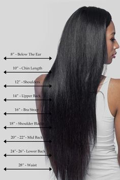13 Best Hair Length Chart Images Hairstyle Ideas Great Hair