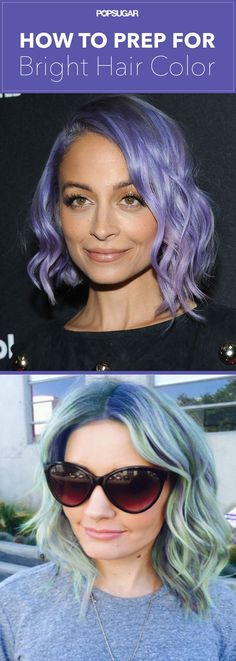 Thinking about dyeing your hair a bright or pastel color? Read these tips before you go to the salon.