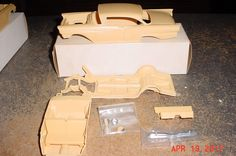 1957 Ford Club Victoria 2 Door RESIN 1/25  #Unknown