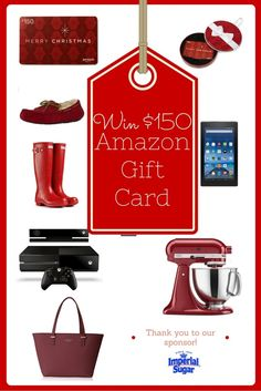 Who wants a $150 Amazon Gift Card?! Click through this post to enter to win!!