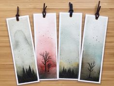 More bookmarks, yes! And I'm working on ornaments this weekend too, watercolor painting ornaments. I can't wait to finish them. Lots of…