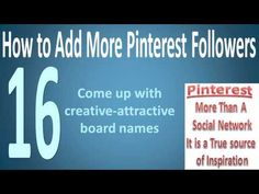 www.makemoney-whj.com  More Ways to Add Pinterest Followers!!!  ~Kenny Boykin~  ~Over 96,000 Twitter Followers~  ~27,000 LinkedIn Connections~  ~4,500 Personal Facebook Friends~  ~6,500 Pinterest Followers~  ~Owner of www.MakeMoney-Whj.com~  #Pinterest Tips, #Pinterest Help, #Pinterest More Followers, #Pinterest, #Pinterest Questions, #Pinterest How To,#Pinterest Domination, #Pinterest