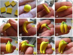 DIY Polymer Clay Banana