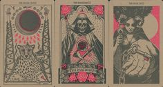 Lynyrd Narciso has been producing tarot designs for over ten years.