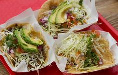 Must try Tacos at Oscar's Mexican Seafood - Cash only