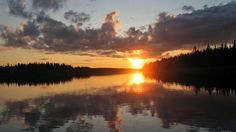 The midnight sun is bringing nightless night to the municipality of Utsjoki in Finland's far north starting Wednesday. Places Around The World, Around The Worlds, Midnight Sun, Adventure Awaits, Amazing Photography, The Good Place, Sunrise, Pictures, Photos