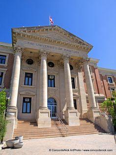 University of Manitoba Steps by Concorde Nick, via Flickr