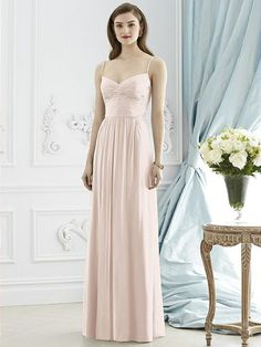 Dessy Collection Style 2944 in Blush