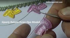 Sipariş Rekoru Kıran Oya Modeli - Full Tutorial and Ideas Crochet Borders, Crochet Motif, Crochet Patterns, Odd Molly, Tatting Tutorial, Bra Pattern, Needle Tatting, Photo Tutorial, Crochet Earrings