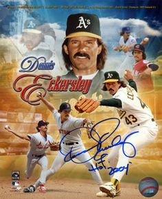 Dennis Eckersley Saturday, June 1 At the Steiner Sports Store The Steiner Sports Store Roosevelt Field Mall Garden City, NY 11530 800-242-7139 12:00 PM-1:30 PM   Pricing $45 Flats up to 8x10 / Balls $65 Equipment $25 Inscriptions