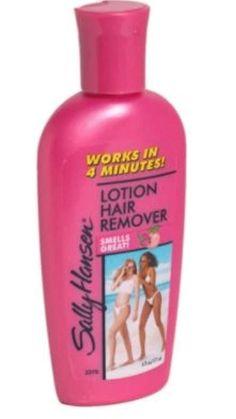 LOT OF 2 SALLY HANSEN LOTION HAIR REMOVER 3 MINUTE FORMULA 10 OZ. BOTTLE #SallyHansen