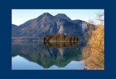 'Herbstnachmittag am Walchensee (3) pp2' von Rudolf Büttner bei artflakes.com als Poster oder Kunstdruck $18.71