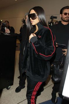 Kim Kardashian At Lax Airport In Los Angeles - January 11, 2017