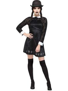 Costumes Halloween   les meilleurs looks pour une nuit de panique Halloween  Costumes Écolière Gothique 0d4c5bef64