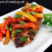 For the Love of Cooking » New Website Feature, Roast Chicken with Balsamic Peppers, AND A GIVEAWAY!