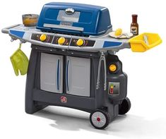 Step2 Sizzle & Smoke Toy BBQ Grill is a toy our 6 year old girl loves to play with. These are super popular toys!