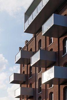 la Minoterie, Roubaix, 2008 - TANK Architectes